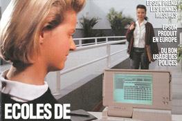 Publicité Epson 1991