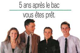 Publicité IÉSEG 1985
