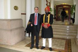 Visite de Jean-Philippe Ammeux en Inde 20078