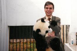 Jean-Philippe Ammeux en visite à Chengdu, Chine