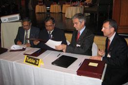 Signature de partenariat - Inde