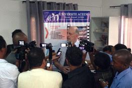 Signature du partenariat de Twinning Programme entre l'ACEEM Madagascar et l'IÉSEG 2013