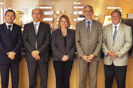 Venue des membres du MBA de Clemson