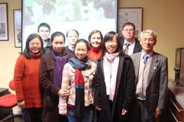 Visites des membres du Centre-Franco-Vietnamien 2012