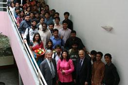 Visite du Dr. Indu Shahani 2009