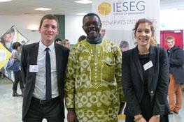 Visite de l'UCAC Cameroun 2013