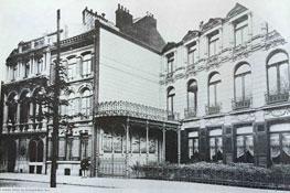 Le bâtiment D en 1886