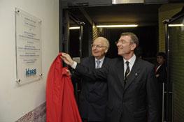 Inauguration du bâtiment E 2007
