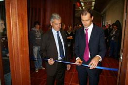 Inauguration de l'amphithéatre Euler Hermès 2012