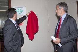 Inauguration de l'amphithéatre Phoenix Pharma 2012