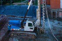Travaux du bâtiment I,fondations, 2013