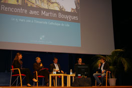 Conférence Martin Bouygues 2011