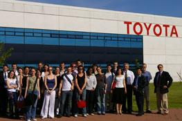 Visite chez Toyota 2006