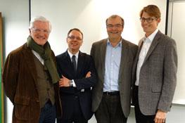 4 présidents d'IÉSEG Network
