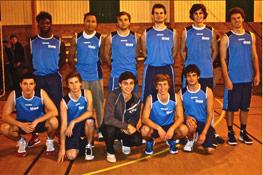 Equipe de basket 2011