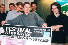 Festival restos du coeur 2000
