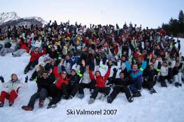 Séjour ski à Valmorel 2007