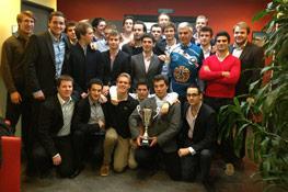 Le XV IÉSEG vainqueur des championnats de France Universitaires
