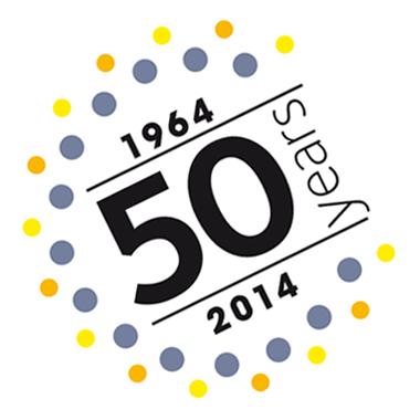 50 years logo